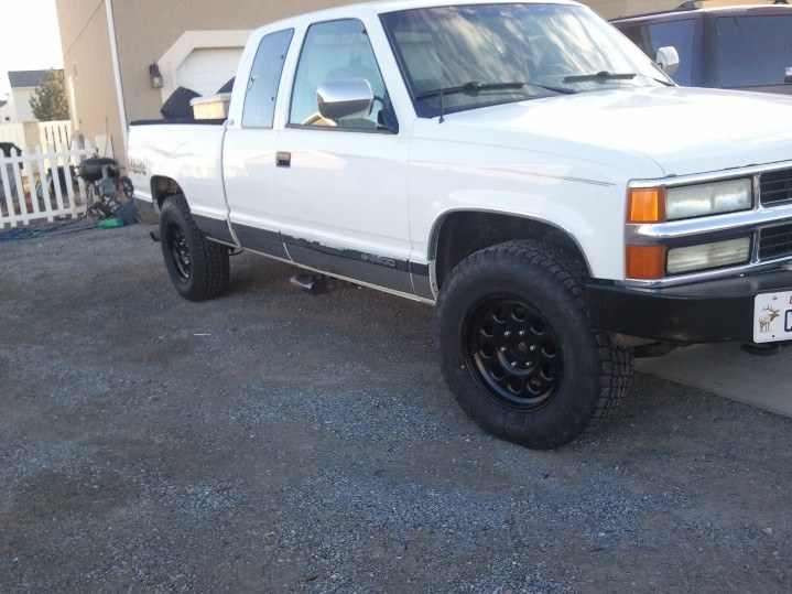 ChevyCase21 1994 Chevrolet 2500 Extended Cab