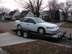 92SHOred 1993 Ford Taurus