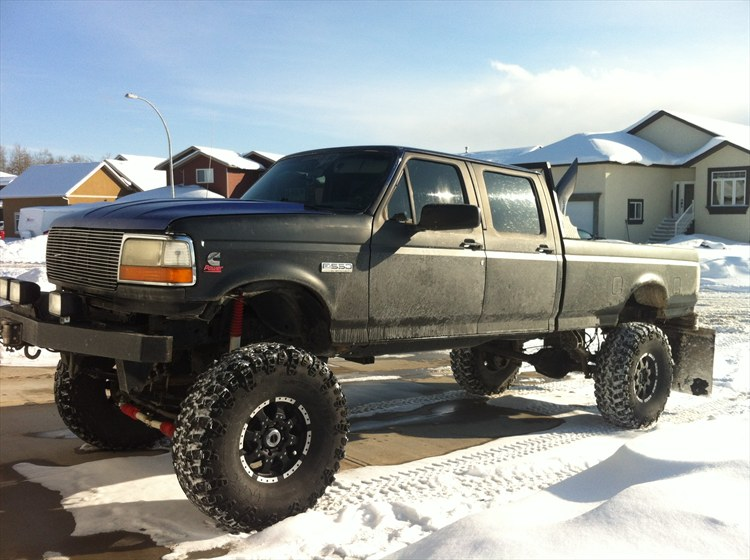 nkheli's 1997 Ford F350 Crew Cab Long Bed in Whitecourt, AB