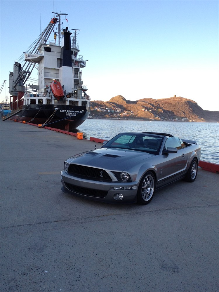 vapor shelby 2008 Ford Mustang