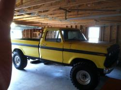 1975 Ford F250 Regular Cab