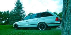 92bavwagon 1992 BMW 5 Series