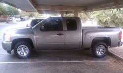 Derrick-Simmons 2009 Chevrolet 1500 Extended Cab