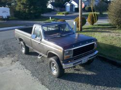 1981 Ford F250 Regular Cab