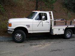 CatDieselPowerC7 1991 Ford F350 Regular Cab
