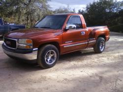 orange gmc 1999 GMC Sierra (Classic) 1500 Regular Cab