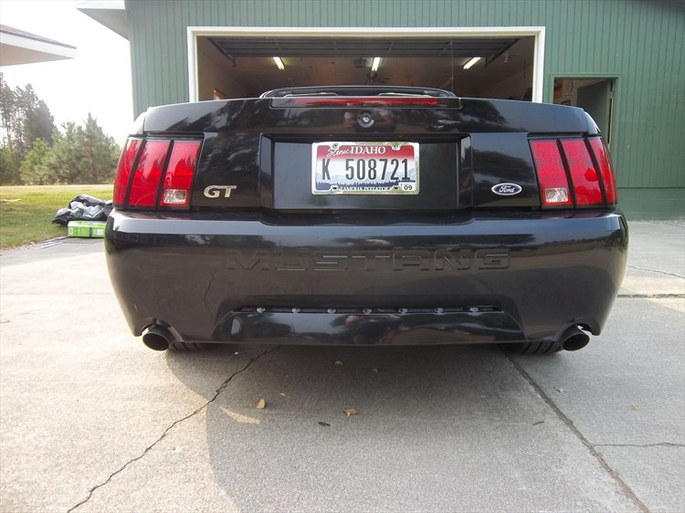 2001 Ford Mustang GT Convertible - 15969671