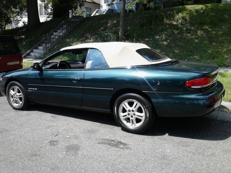 borileo 39 s 1997 chrysler sebring in saint paul mn. Cars Review. Best American Auto & Cars Review