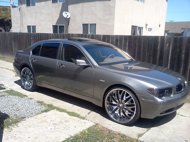 Purpleboyq 2003 Bmw 7 Series745li Sedan 4d Specs Photos