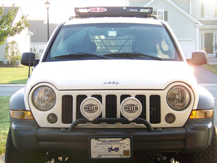 Liberty Light Bar Mod: SPORTJP 2006 Jeep Liberty's Photo Gallery At CarDomain