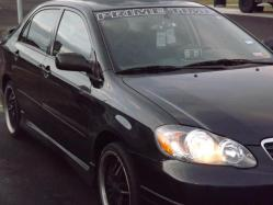 Black Ghost 2012 2005 Toyota Corolla