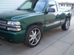 greenyos 1999 Chevrolet Silverado 1500 Regular Cab