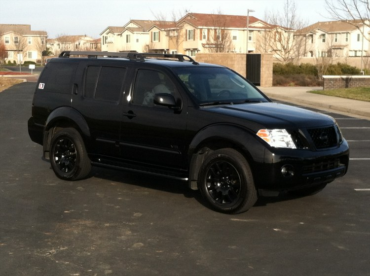 Wheels nissan pathfinder 2008