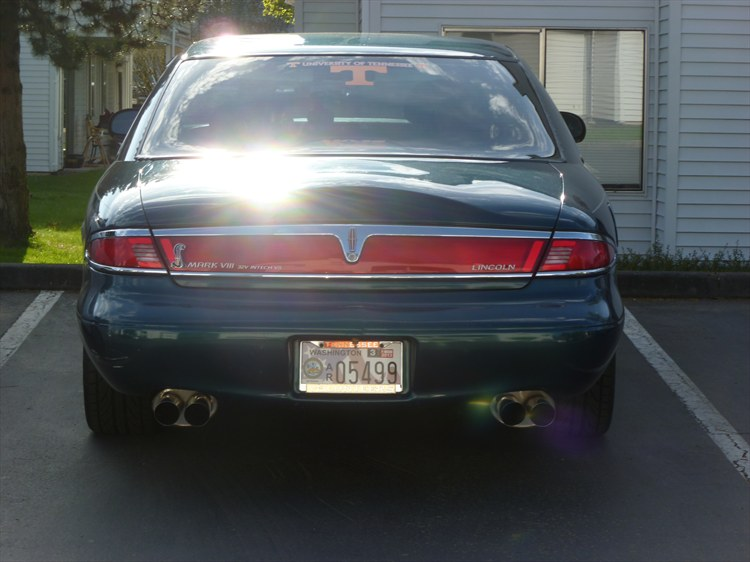 Terry-Anderson 1997 Lincoln Mark VIII