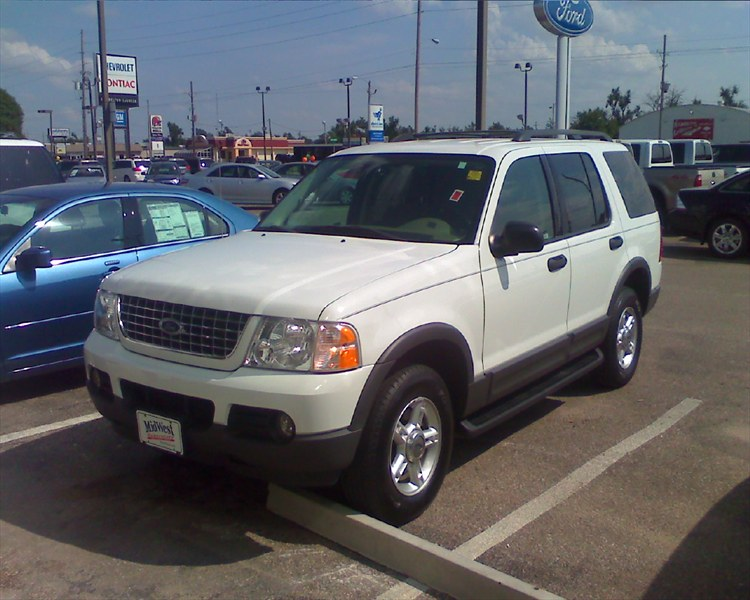 REDHOTX 2003 Ford Explorer