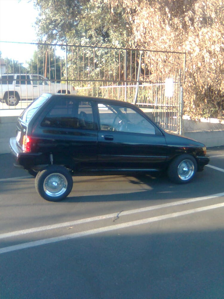 Vanko 1992 Ford Festiva Specs Photos Modification Info