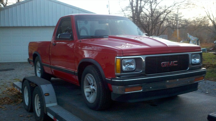 Large on 1992 Chevrolet S10