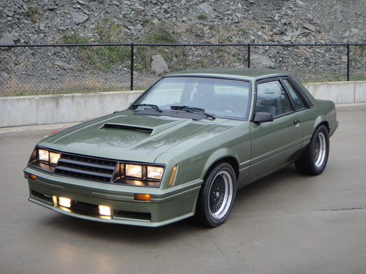 EVIL85SSP 1985 Ford Mustang 15455871