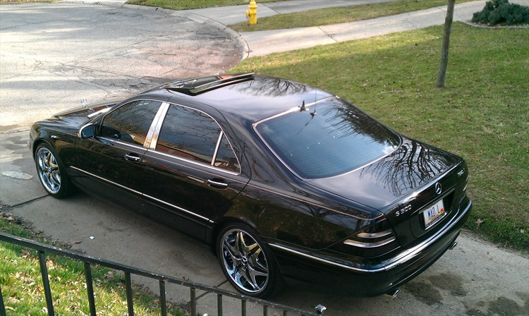 Madlmusic 2000 Mercedes Benz S Classs500 Sedan 4d S Photo Gallery At