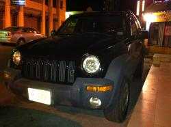 All Black 2002 Jeep Liberty
