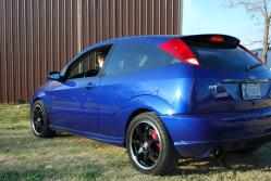 SVT_SonicBlue 2004 Ford Focus