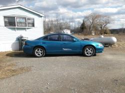 Dees Blue Girl 1999 Pontiac Grand Prix