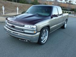 2001customsilver 2001 Chevrolet 1500 Extended Cab