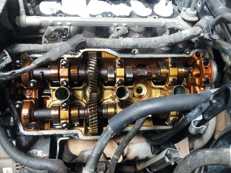 Now You Can Remove The 16 Valve Cover Bolts On Both Valve Covers