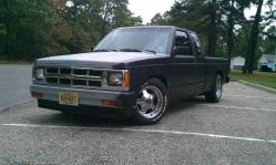 1986 Chevrolet S10 Extended Cab