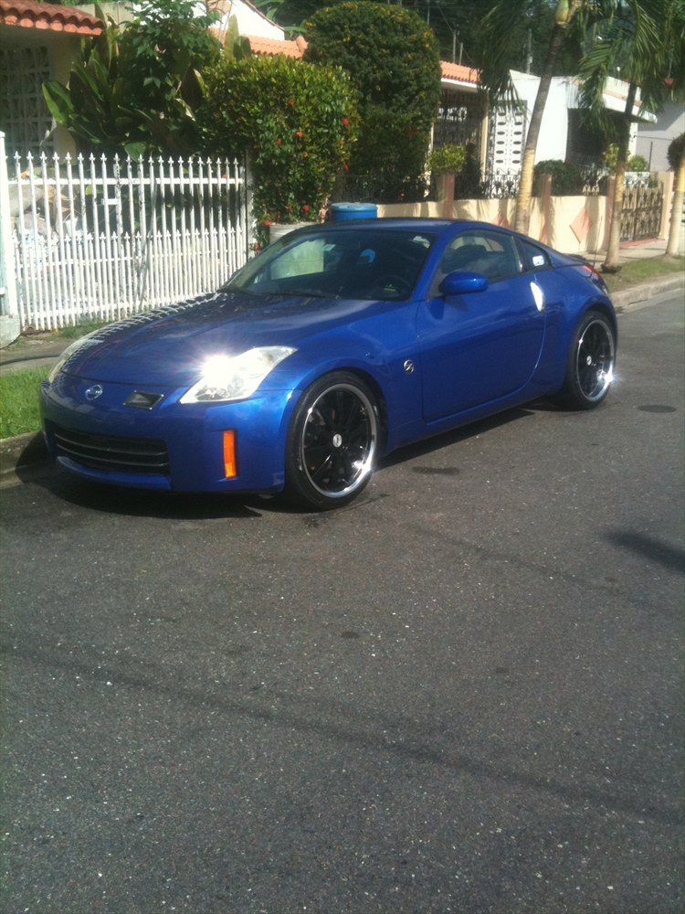 bluedevil z 2006 nissan 350z specs photos modification. Black Bedroom Furniture Sets. Home Design Ideas