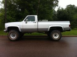 JesseComfort 1983 Chevrolet 2500 Regular Cab
