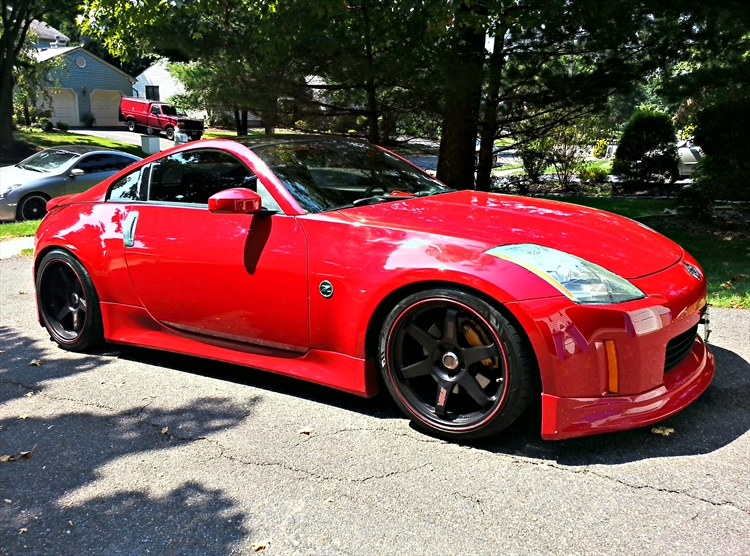coupe nissan 350z