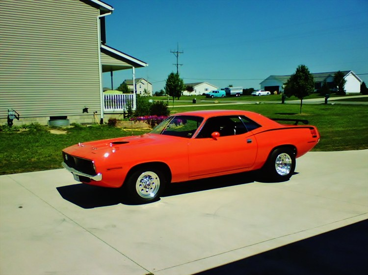 2001turboDakota 1970 Plymouth Barracuda