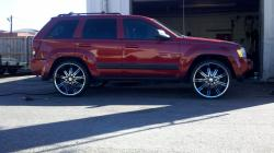 TooDistinguisheds 2006 Jeep Grand Cherokee