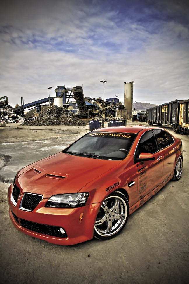 2008 Pontiac G8