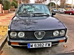 garbur 1983 Alfa Romeo Berlina