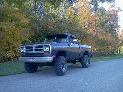 86 Dodge 1986 Dodge W-Series Pickup