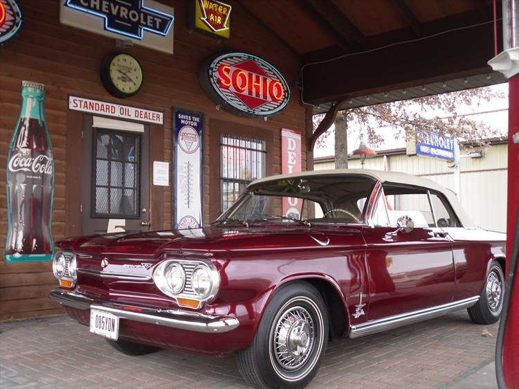 Factory High Performance 1963 Chevrolet Corvair Monza 900 Spyder Turbo Charged - 99481