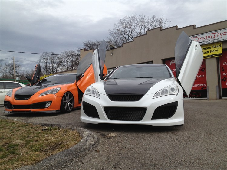 Import-Shark 2010 Hyundai Genesis Coupe 16085060