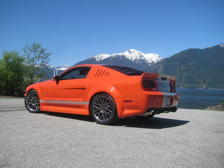 Venom Mustang GT 500 every single panel is customized or custom built - 16205024