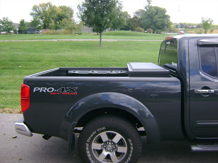 High Quality Nissan Wheels Installed On 2011 Nissan Frontier Crew Cab