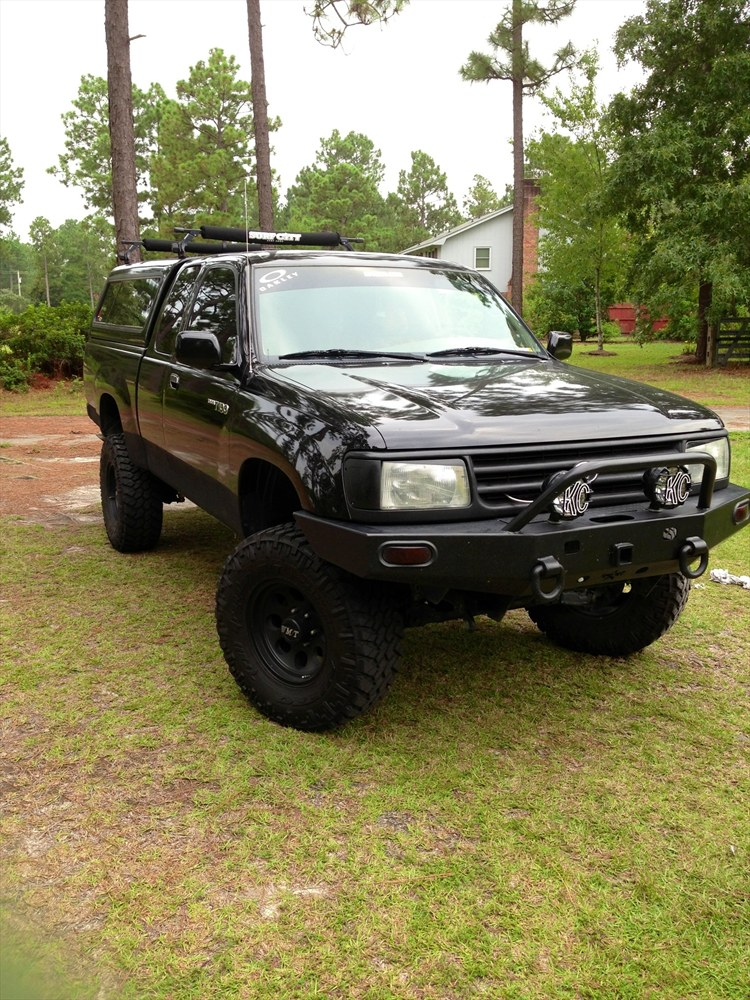 DirtyDan4 1996 Toyota T100 Specs, Photos, Modification ...