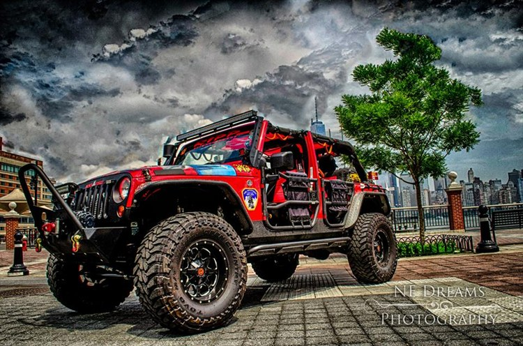 JK343 the 9/11 Tribute Jeep - 16330116