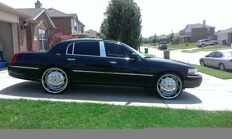 24 Inch Rims Lincoln Town Car On 24 Inch Rims