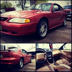 godizfiction 1997 Ford Mustang