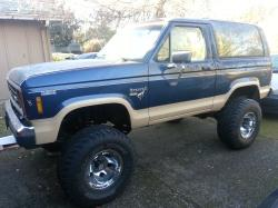 Ford Horses 1986 Ford Bronco II