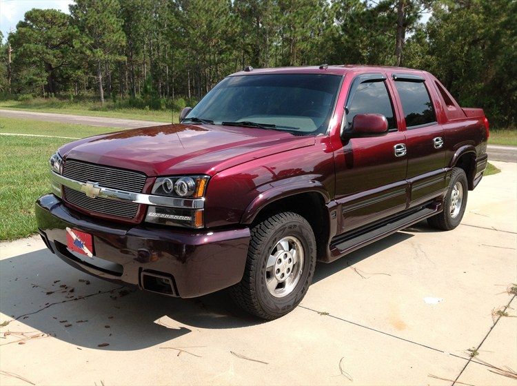 TurboSmoke 2004 Chevrolet Avalanche 1500