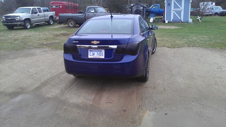 tinted tail lights - 16175139