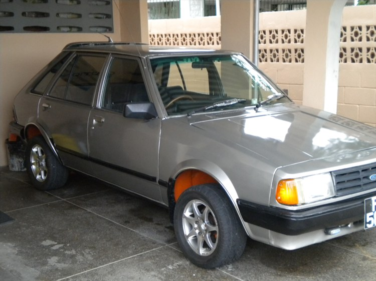 This is my 1983 Ford Laser HatchBack.   Its consists of the an E5 1500 cc engin with 5Fwd gear box with extractors and 2 inch exhaust from front to back... - 16187195