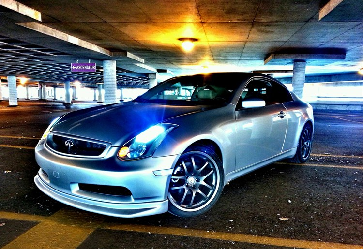 azian smoothy 2004 infiniti gg35 coupe 2d specs photos modification info at cardomain. Black Bedroom Furniture Sets. Home Design Ideas